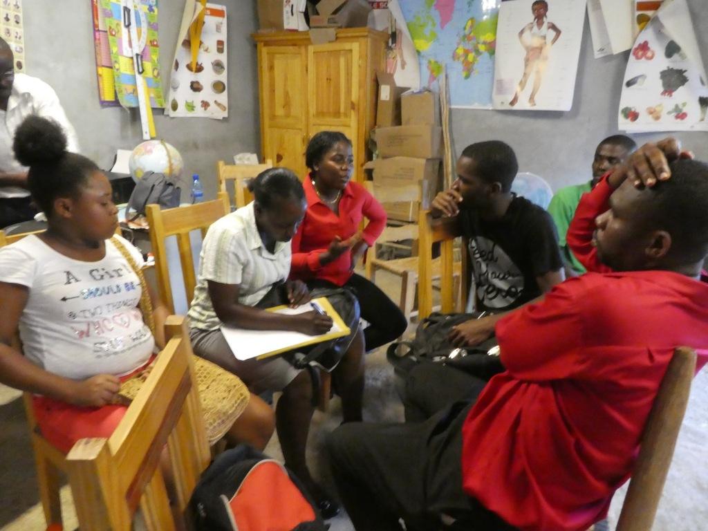 Mission à Léogane en Haïti