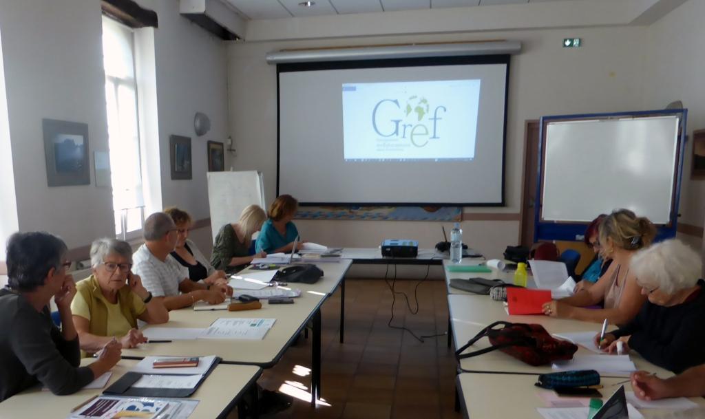 Journées formation des membres du GREF à Moissac