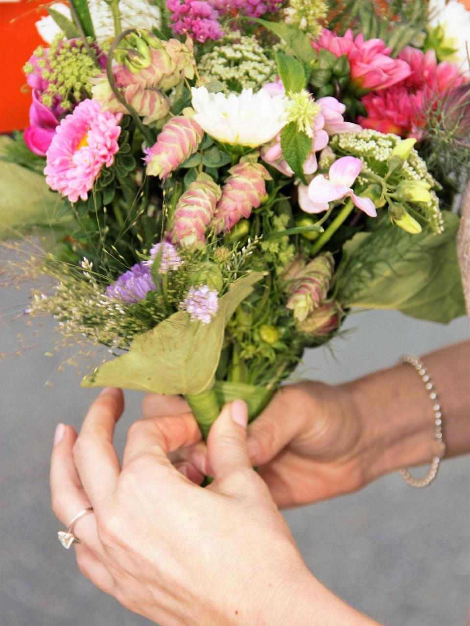 Wedding bouquet. Courtesy Tanya Walliser