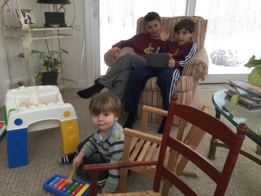 The Boys At Grandma & Gagi's