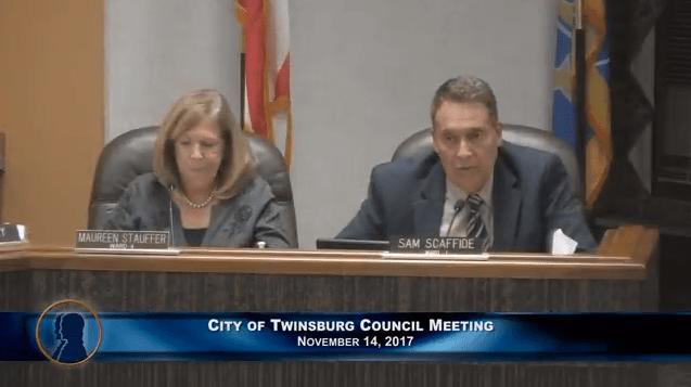 Twinsburg Council Meeting - November 14, 2017