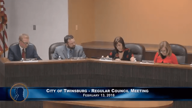 Twinsburg Council Meeting - February 13, 2018