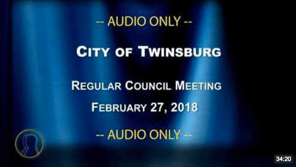 City of Twinsburg Council Meeting - February 27, 2018