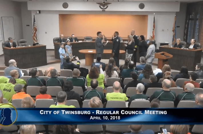 Twinsburg City Council Meeting - April 10, 2018