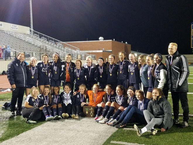 Girls Soccer Distric Champs