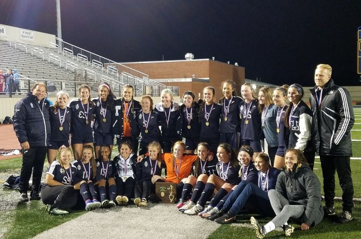 Girls Soccer Distric Champs