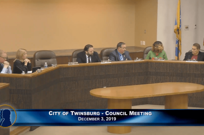 City of Twinsburg Council Meeting - December 3, 2019