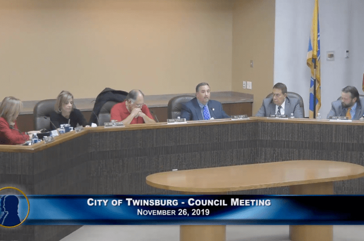 City of Twinsburg Council Meeting - November 26, 2019