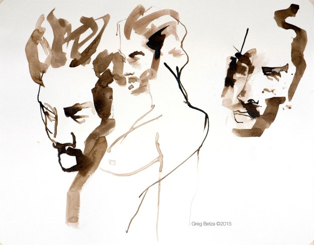 Pen & Ink fashion illustration