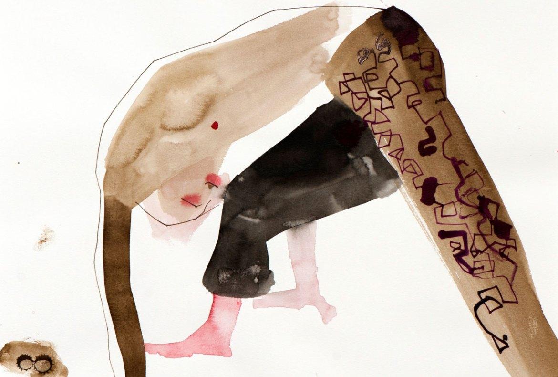 Pen & Ink drawing by Greg Betza