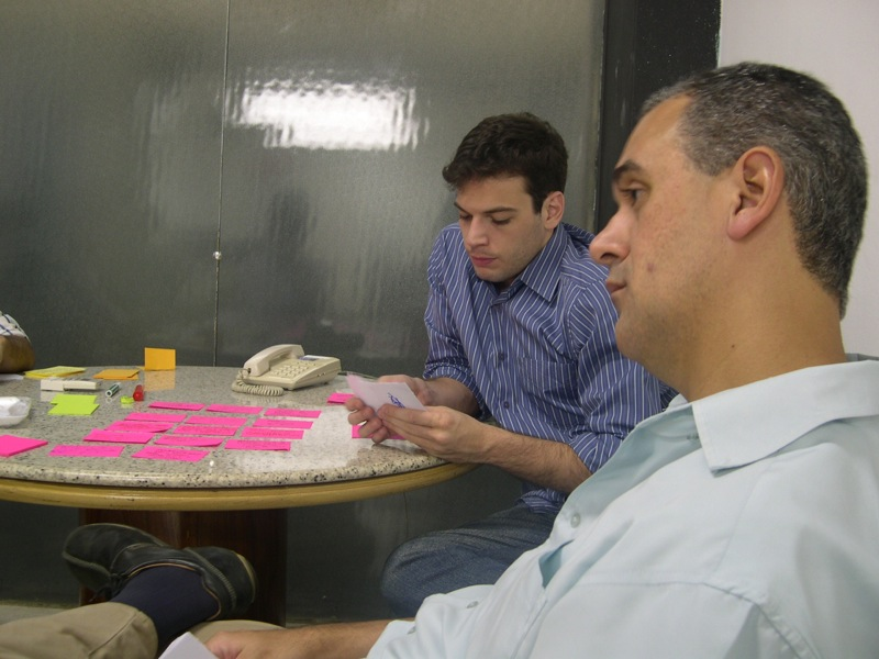 A team estimating their next iteration using planning poker. What agile estimation units are they using?