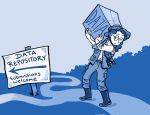 A data repository is not a community of practice