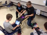 Students record a Radio Show with AudioBoo