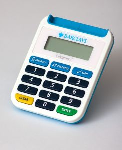 A device to prevent credit card fraud.