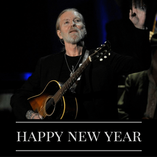 Happy New Year Gregg Allman