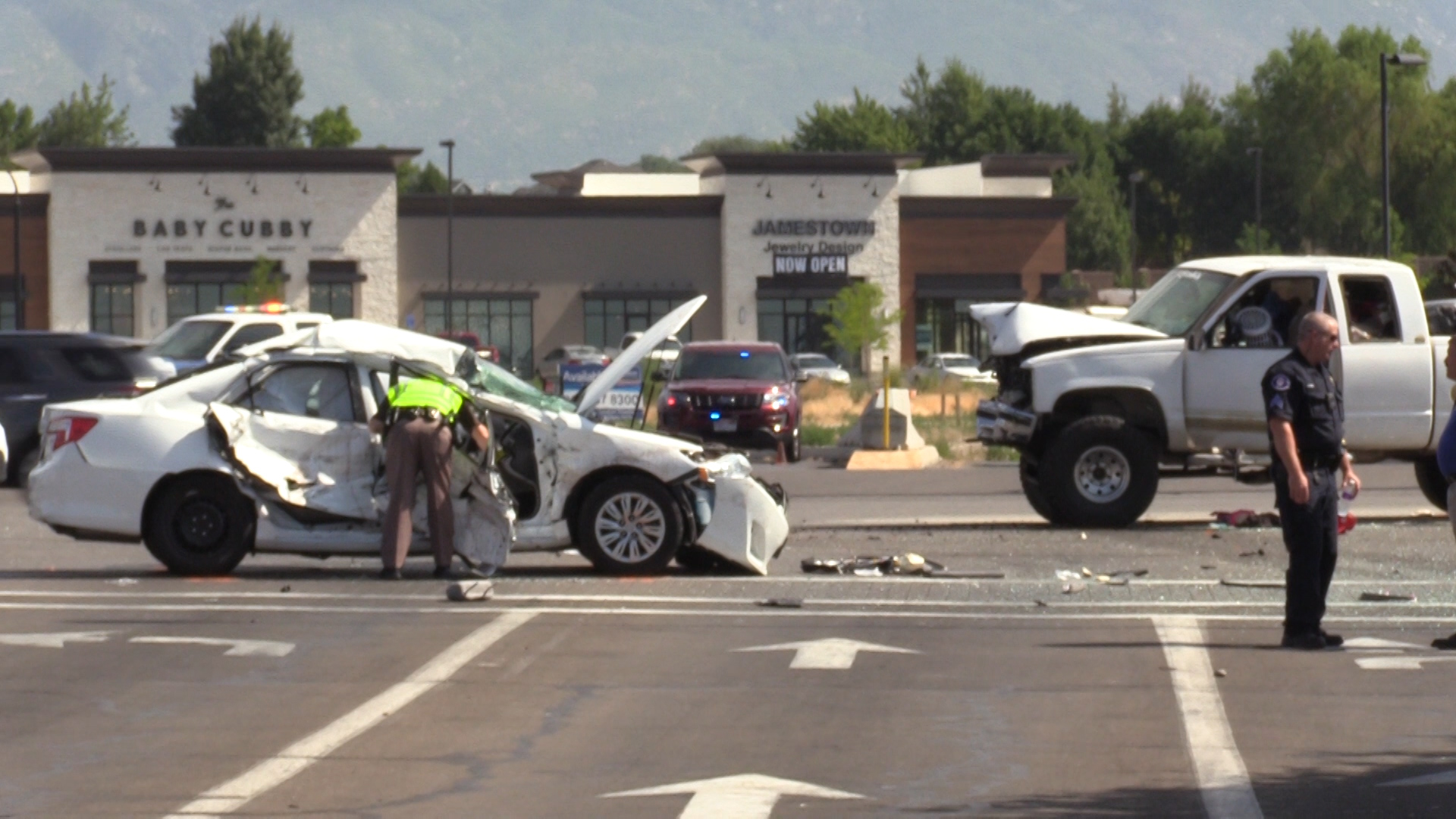 Utah Police Chase Lawyer