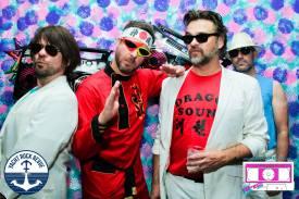 Reagan Rock Prom 2015 with Mark Dannells, ?Mark Cobb, and David B Freeman