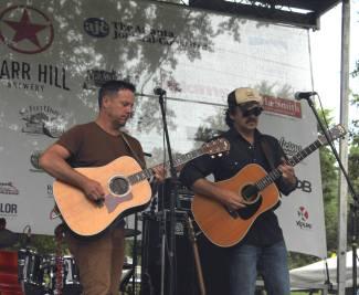 GLee and Peter Searcy @ Summer Shade Fest 2015, Grant Park, Atlanta, Ga.