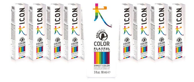Playful Brights colores fantasia para el pelo