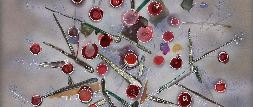 pomegranate artwork