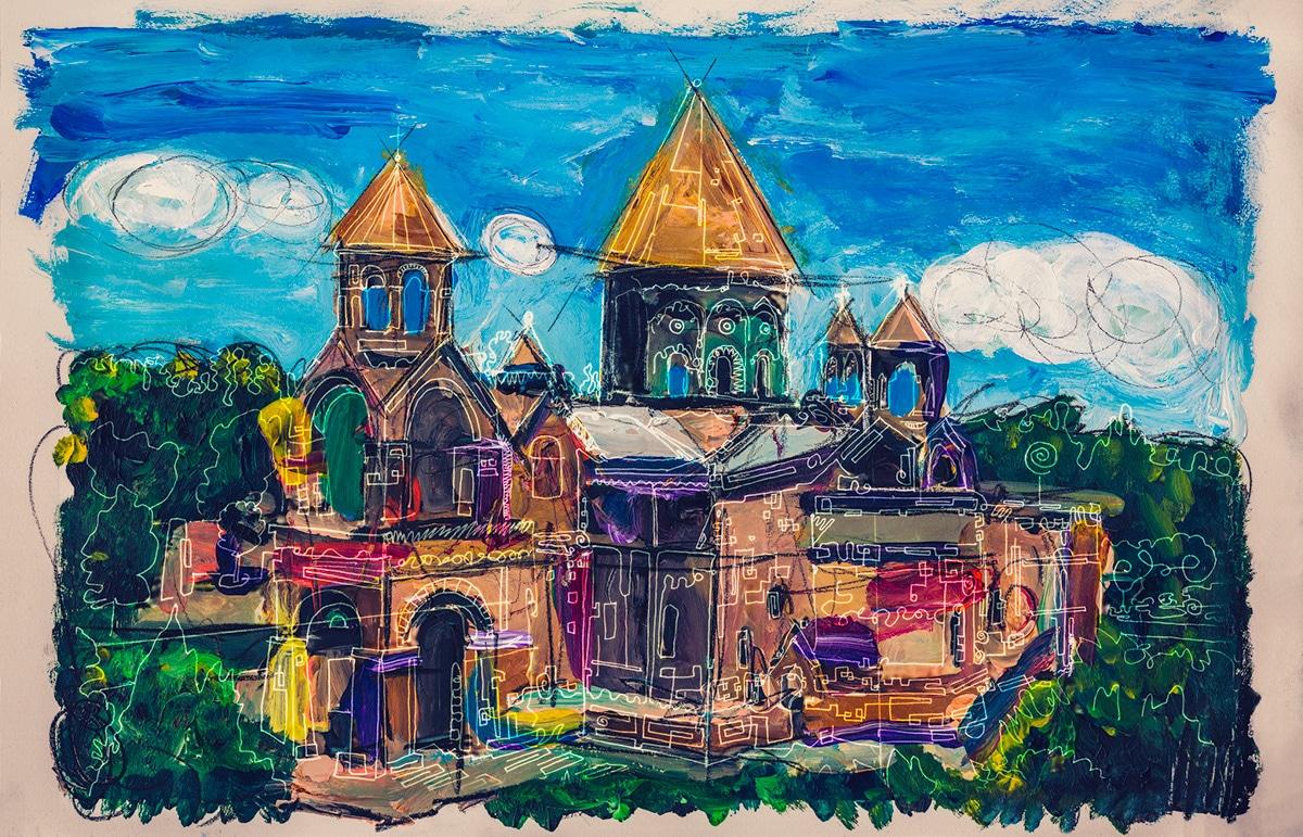Etchmiadzin Cathedral Armenia Gregory Beylerian