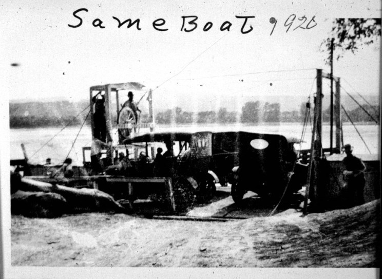 Picture of Snake Creek Ferry 1920