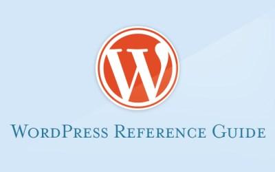 WordPress V.4 Reference Guide