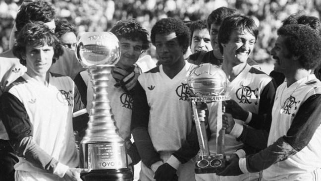 Flamengo campeão do mundo em 1981. (Autor desconhecido)