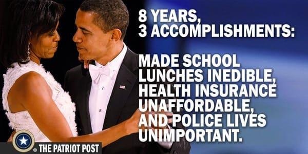 Obama: Eight years, three accomplishments