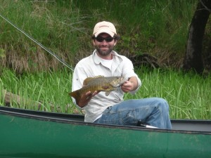 A nice smallmouth.