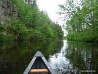 St. Croix River canoeing