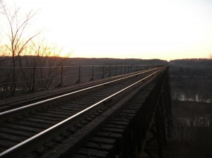 Soo Line (Arcola) High Bridge, November 2007