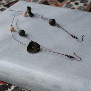 Σκουλαρίκια από cernit