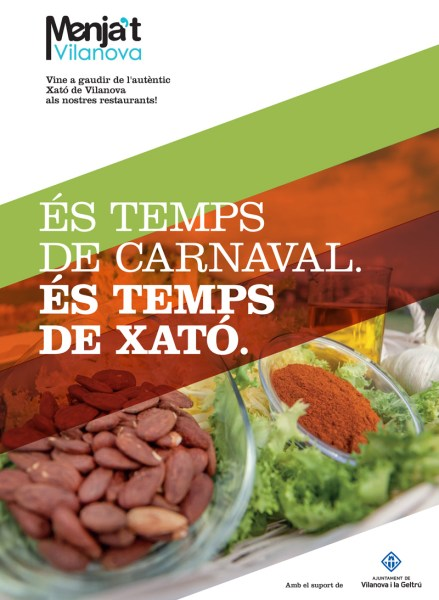"""""""És temps de Carnaval, és temps de xató"""""""