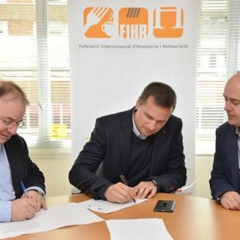 La FIHR i JustaEnergia acorden impulsar l'eficiència energètica en el sector d'Hostaleria i Restauració