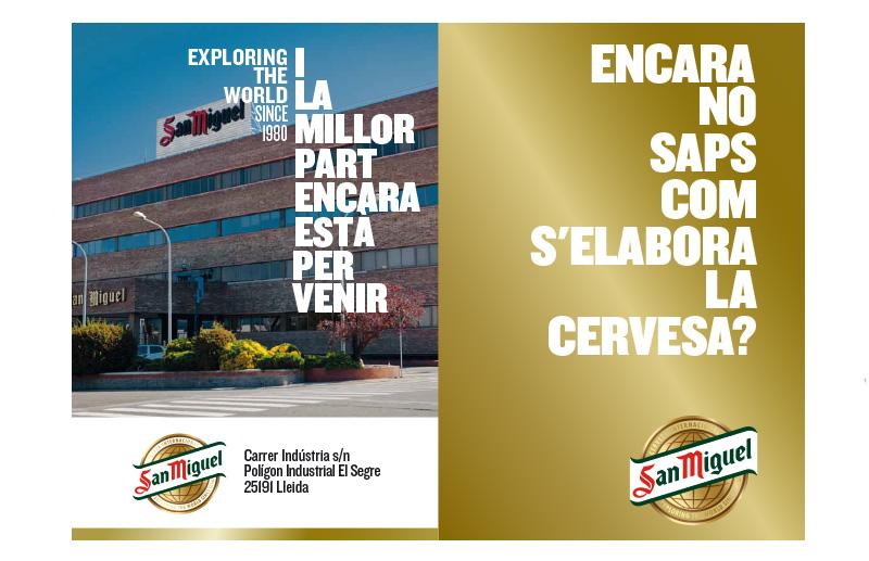 Activitat del Gremi – Visita a la fàbrica de cervesa San Miguel