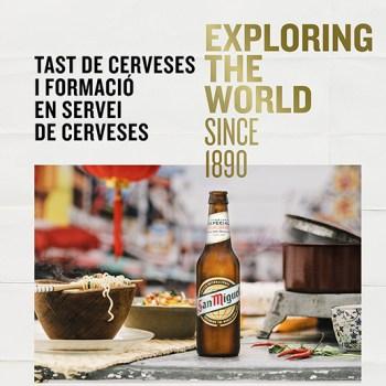 Tast de cerveses i formació en servei de cerveses