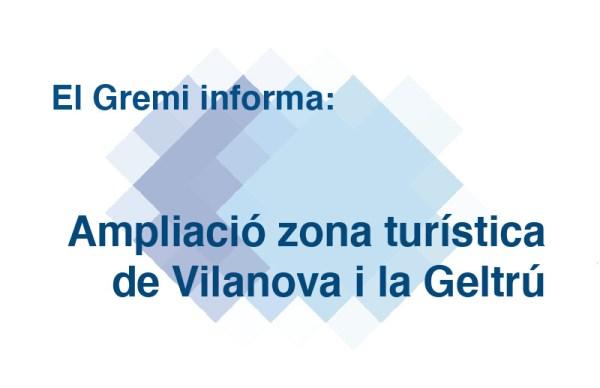 Ampliació zona turística de Vilanova i la Geltrú