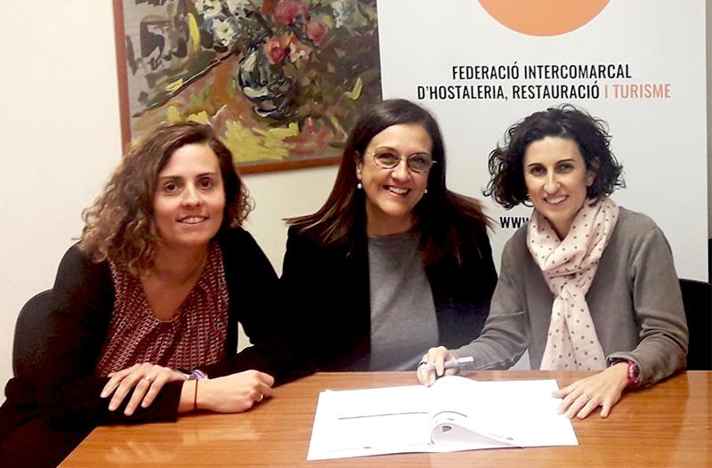 El Gremi d'Hostaleria de Vilanova i la Geltrú signa un nou acord amb SERHS Serveis