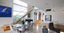 curl curl gremmo homes adina road dining kitchen interior