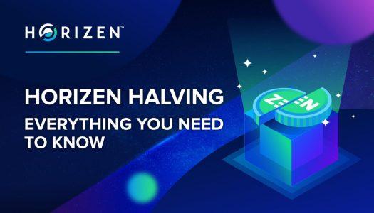 【快訊】Horizen ( ZEN ) 將於今日晚間六點半左右進行第一次減半
