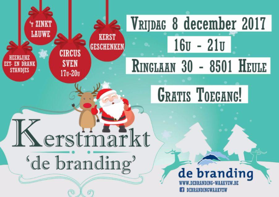 kerstmarkt 'de branding'