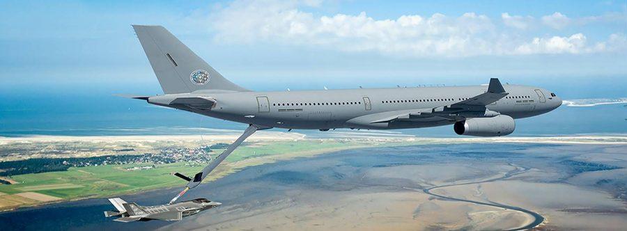 Europese Defensie - België investeert in een pool Europese tankvliegtuigen