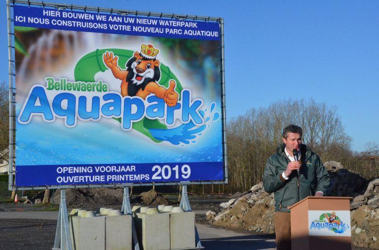 Voorbereidende werken nieuw aquapark Bellewaerde gestart