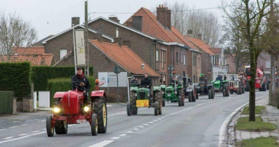 KLJ Heestert organiseert houdt jaarlijkse Tractor- en Truckzegening