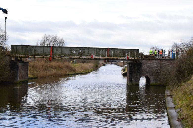 Herstel kanaalbrug Koolhofput, Frontzate Nieuwpoort gestart