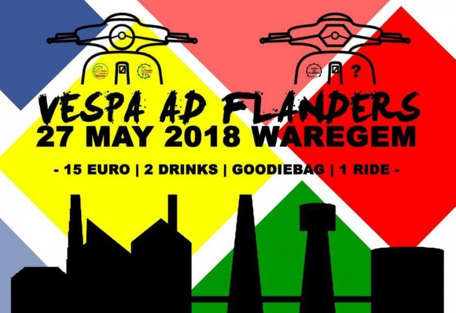 """""""Vespa@Flanders"""" op zondag 27 mei"""