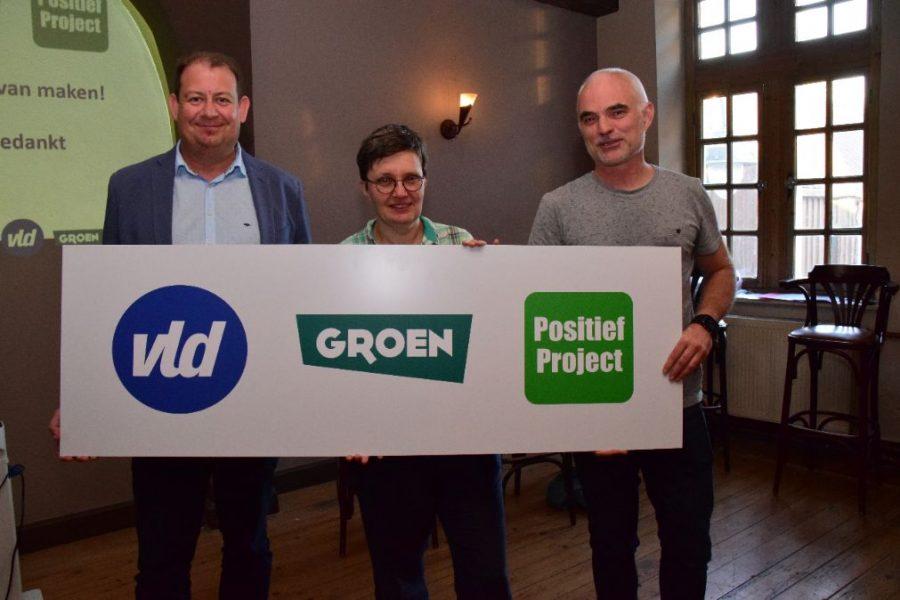 Open Vld in kartel met Groen en Positief Project naar gemeenteraadsverkiezingen 2018