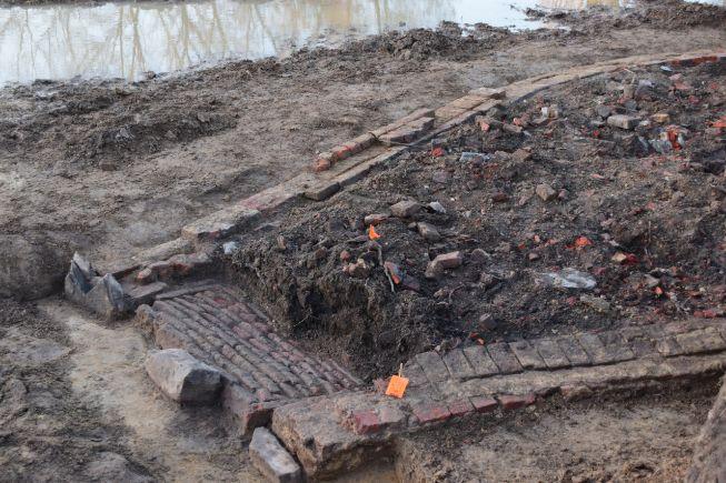 Archeologische opgravingen Hellestraat Wervik