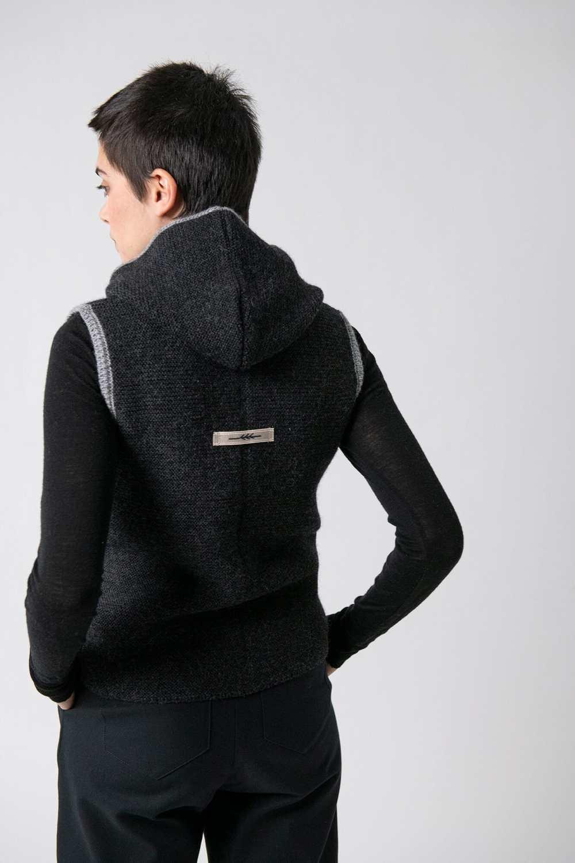 Strickweste Susanne Grenzgang Slow Organic Fashion